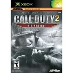 Call of Duty 2 Big Red One Collectors Edition Xbox Original