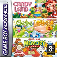 Candyland/Chutes + Ladders/Memory Compilation Gameboy Advance