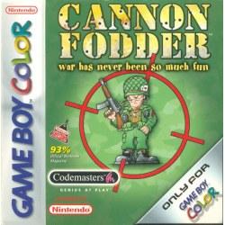 Cannon Fodder Gameboy