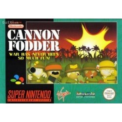 Cannon Fodder SNES