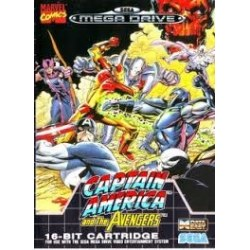 Captain America and the Avengers Megadrive