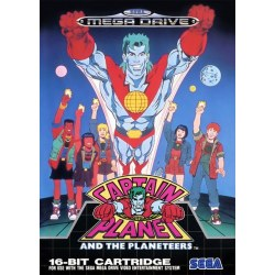 Captain Planet and the Planeteers Megadrive