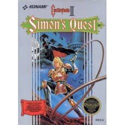 Castlevania II: Simons Quest.