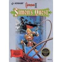 Castlevania II: Simons Quest. NES
