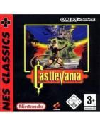 Castlevania NES Classics Gameboy Advance