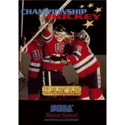 Championship Hockey Master System