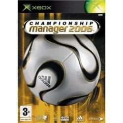 Championship Manager 2006 Xbox Original