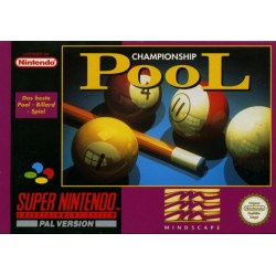 Championship Pool SNES