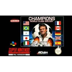 Champions World Class Soccer SNES