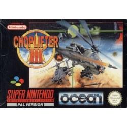 Choplifter III SNES