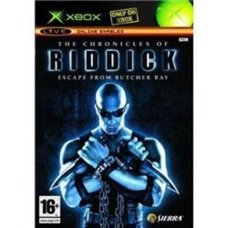 Chronicles of Riddick Escape from Butcher Bay Xbox Original