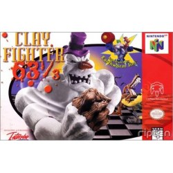 Clay Fighter 63 1/3 N64