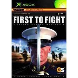 Close Combat First to Fight Xbox Original