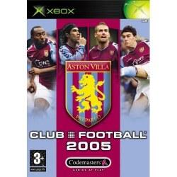 Club Football 2005 Aston Villa Xbox Original