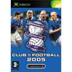 Club Football 2005 Birmingham City Xbox Original