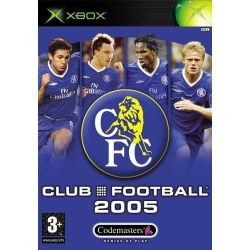 Club Football 2005 Chelsea Xbox Original