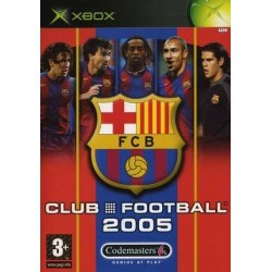 Club Football 2005 FC Barcelona Xbox Original