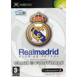 Club Football 2005 Real Madrid Xbox Original