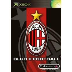 Club Football AC Milan Xbox Original