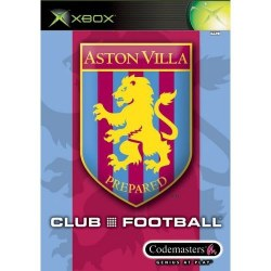 Club Football Aston Villa Xbox Original
