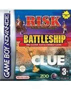 Cluedo, Battleships & Risk Gameboy Advance