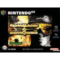 Command and Conquer N64