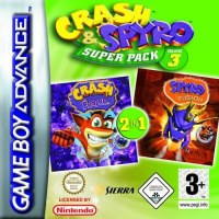 Crash & Spyro SuperPack Volume 3 Gameboy Advance