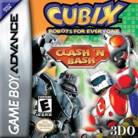 Cubix - Robots for Everyone Clash 'N Bash Gameboy Advance