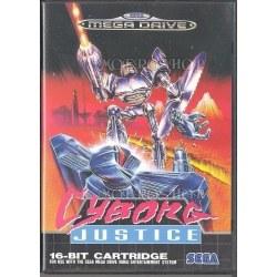 Cyborg Justice Megadrive