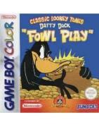 Daffy Duck Fowl Play Gameboy