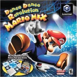 Dancing Stage Mario Mix with Dance Mat Gamecube