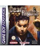 Dead to Rights Gameboy Advance