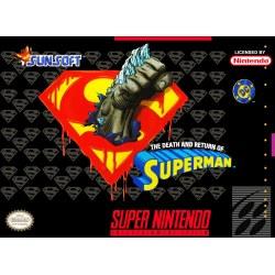 Death & Return of Superman SNES