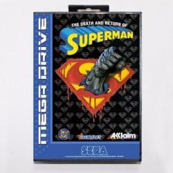 Death & Return Superman Megadrive