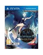 Deception IV: Blood Ties Playstation Vita