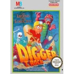 Digger T Rock NES