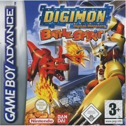 Digimon Battle Spirit Gameboy Advance