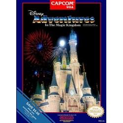 Disney Adventures In the Magic Kingdom NES