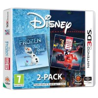 Disney Frozen/Big Hero 6 Double pack 3DS