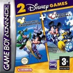 Disney Sports Football & Skateboarding Twin Pack Gameboy Advance