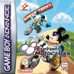 Disney Sports Motocross Gameboy Advance