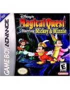 Disney's Magical Quest Starring Mickey & Minnie Gameboy Advance