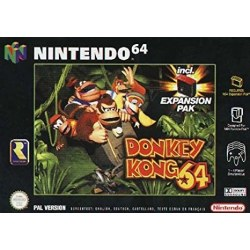 Donkey Kong 64 With Expansion Pack N64