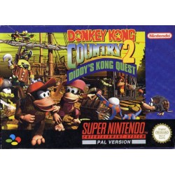 Donkey Kong Country II SNES