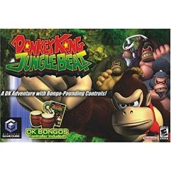 Donkey Kong Jungle Beats + Bongos Gamecube