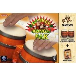 Donkey Konga with Bongos Gamecube