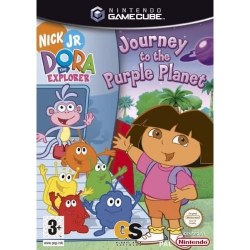 Dora the Explorer Journey to the Purple Planet Gamecube