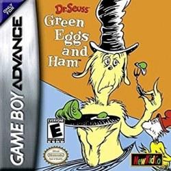 Dr Seuss Green Eggs ad Ham Gameboy Advance