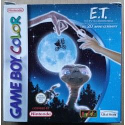 ET The Extra Terrestrial Gameboy