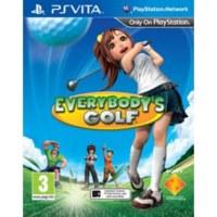 Everybody's Golf Playstation Vita